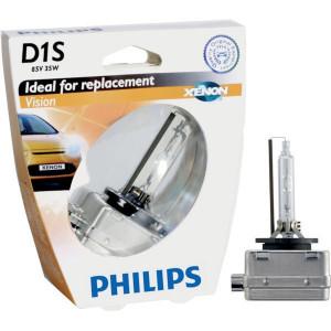 Philips Xenonlamp D1S Vision - GL85415VIS1 | 35 W | PK32d-2 | 2200 Uur | 4400K K | 3350 ±300 | 0.307 kg
