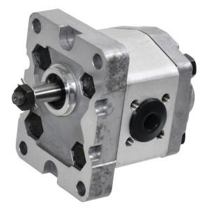 Gopart Tandwielpomp gr1 2cc D C18E - GP102D3030C18EGP   4-gats flens, DIN   Conische as 1 : 8   2.1 cc/omw   180 bar p1   230 bar p3   5500 Rpm omw./min.   600 Rpm omw./min.   30 mm   30 mm