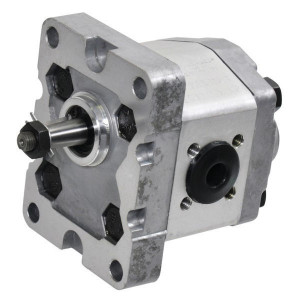 Gopart Tandwielpomp gr1 5cc S C18E - GP105S3030C18EGP   4-gats flens, DIN   Conische as 1 : 8   4.8 cc/omw   160 bar p1   180 bar p3   4000 Rpm omw./min.   600 Rpm omw./min.   30 mm   30 mm