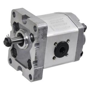 Gopart Tandwielpomp gr1 6cc S C18E - GP106S3030C18EGP   4-gats flens, DIN   Conische as 1 : 8   5.8 cc/omw   160 bar p1   180 bar p3   3200 Rpm omw./min.   600 Rpm omw./min.   30 mm   30 mm