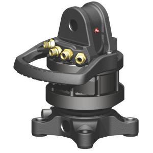 "Baltrotors Rotator 45kN Flens 4x17mm vier - GR465 | Grapple Rotator | Eindloos draaiend | G 3/8"" Inch | 20 l/min | +cam b=73 mm, hole 25 mm | 1200 Nm"