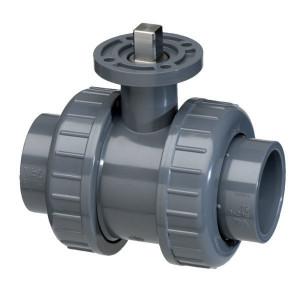 PVC-U kogelkraan, ISO-top