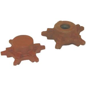 Kettingwielen voor gekalibreerde ketting