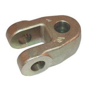 Gaffelkoppen bodemzijde 32mm voor hydr. topstangen | Cat. 3 120 mm