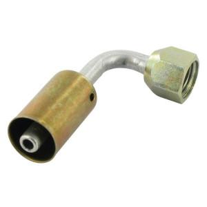Perskoppeling/pershuls Nr. 6 90° Aluminium