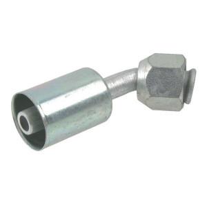 Perskoppeling/pershuls Nr. 8 45° Aluminium
