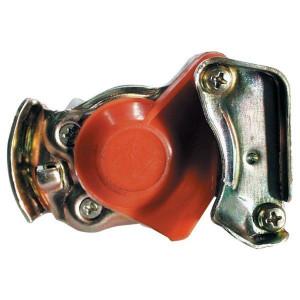 Luchtremkoppelingskoppen automatisch voor 2-leidingssysteem