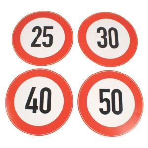 Aanduidingssticker km/h | Schweiz