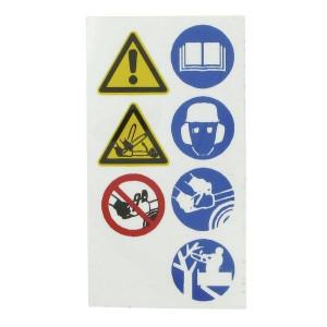 Veiligheidssignalering, Verzamelstickers
