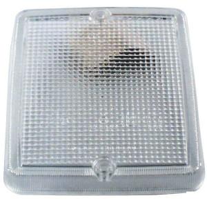 Lampglas voor achteruitrijlamp
