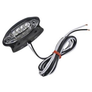 LED - Kentekenverlichting | Controlenummer: E4 4259 | Opbouw | Afmetingen: 87 x 38.5 mm