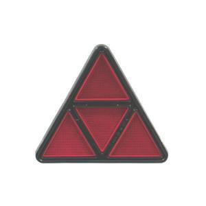 Reflector driehoekig rood