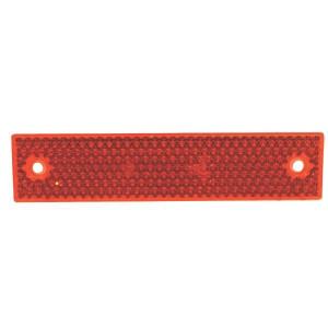 Reflector rechthoekig rood | Universeel toepasbaar