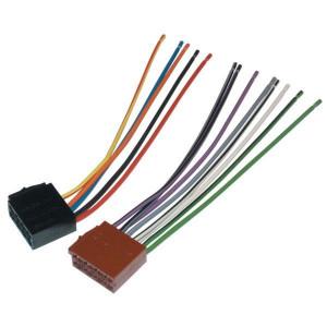 Adapterkabel voor autoradio's ISO | Met ISO-stekker