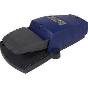 Pedaalschakelaars zonder beschermkap, Kunststof, blauw | 2x ISO M20 of PG13
