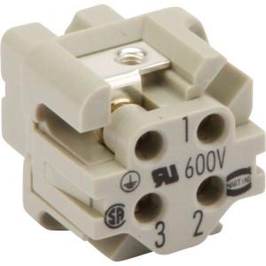 HAN3A Connectoren 3-polig   Polycarbonaat