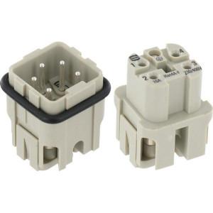 HAN3A Connectoren 4-polig | Polycarbonaat