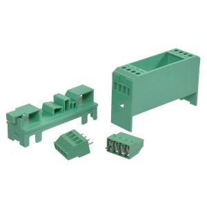 In- en opbouwbehuizingen voor elektronische componenten