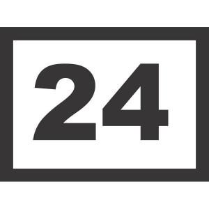 Stekkers recht 24 polig