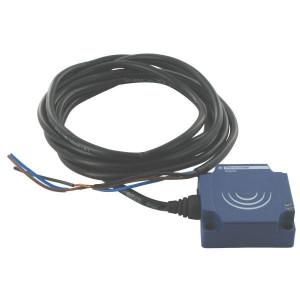Inductieve benaderingsschakelaars vierkante bouwvorm, NO, kabel, serie XS8 D
