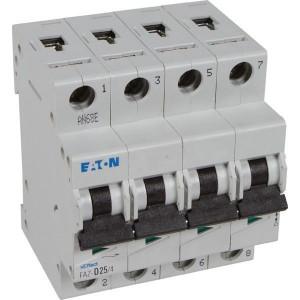 Installatie Automaat D karakteristiek 4 polig