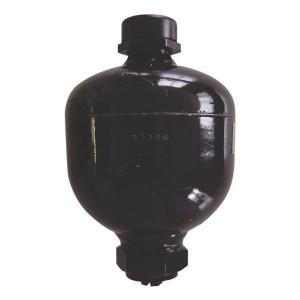 Olaer membraan accumulatoren, gelast, type ELM | Gelaste accumulator | Compacte constructie | Huis staal; Membraan NBR | -10 tot 80 C