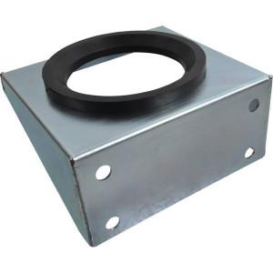 Accumulator bevestigingsbeugel M + A | Met rubberen inleg | Trillingsdempend | Verzinkt staal