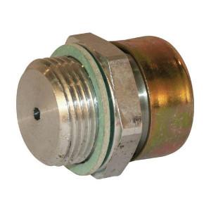 Ontluchtingsfilters type OF | Verzinkt staal | BUNA-N | Schroefmontage | Verzinkt | D.m.v. metaal gaas