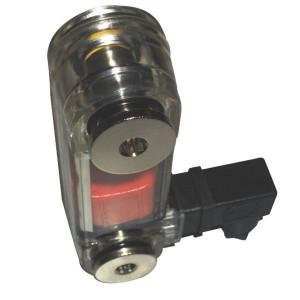 Peilglas met temperatuurmeter en schakeling type LVK-TA | Eenvoudige constructie
