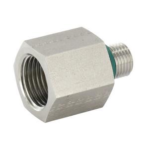 Verloopnippel buiten/binnen RED-R-WD RVS | DIN ISO 228 | RVS 316 L | Nitrilrubber (NBR)