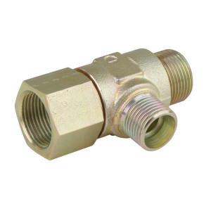 Instelbare T-koppeling type TSOV......L | M22 x 1,5 +Serie L | Verzinkt