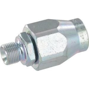 Rechte zwenkkoppelingen binnen/buiten draad RVS | BSP / BSP | RVS 316 L
