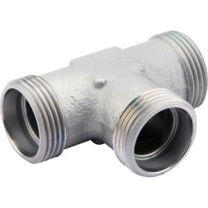 T-koppeling TS | Minder kans op lekkage | DIN 2353 | Zink / Nikkel