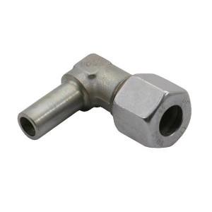 Haakse instelbare koppeling EWV | 2S snijring | DIN 2353 | Zink / Nikkel