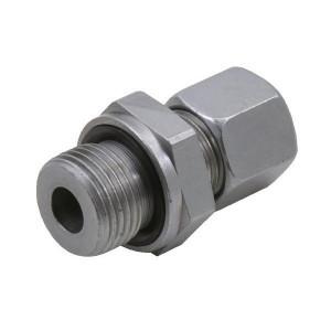 Inschroefkoppeling GEV-Metrisch-WD | 2S snijring | Zink / Nikkel