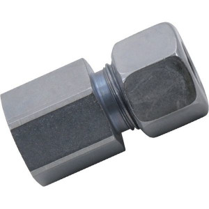 Opschroefkoppeling GAV-Metrisch | 2S snijring | Vlakafdichtend | Zink / Nikkel