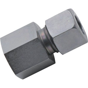 Opschroefkoppeling GAV-BSP | 2S snijring | Vlakafdichtend | Zink / Nikkel