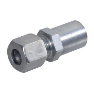 Reduceer koppeling REDV | 2S snijring | DIN 2353 | Zink / Nikkel