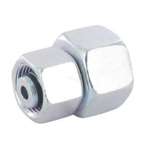 Verbindingskoppeling 2 zijden wartelmoer GVO-S | Voorgemonteerd met O-ring | Minder kans op lekkage | Verzinkt