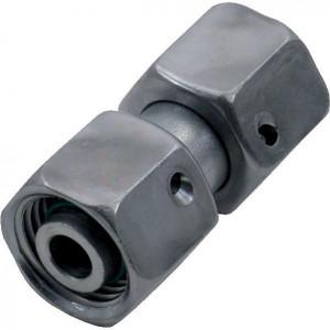 Verbindingskoppeling 2 zijden wartelmoer SNV | DIN 2353 / DIN 3865 | Zink / Nikkel