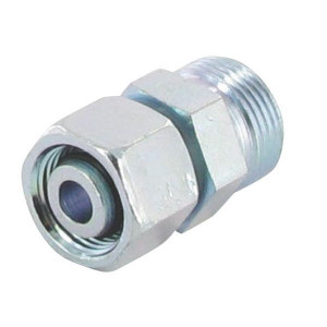 Verbindingskoppeling binnen-buiten draad KOVO-L | Voorgemonteerd met O-ring | Minder kans op lekkage | Verzinkt