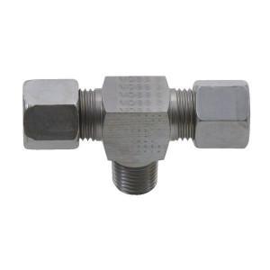 T-inschroefkoppeling TEV-M | 2S snijring | DIN 2353 | Zink / Nikkel
