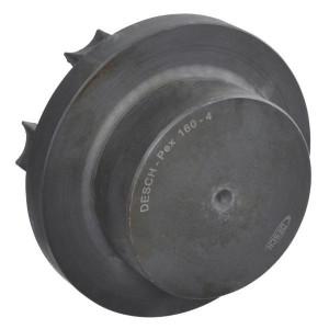 PEX koppelingsnaaf - voorgeboord   1 koppelingshelft