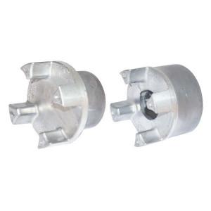 Spidex koppelingshelft aluminium   Doorslagzeker   1 koppelingshelft