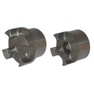Spidex koppelingshelft gietijzer   Doorslagzeker   1 koppelingshelft