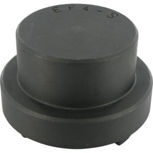 Euroflex koppelingshelft gietijzer   Doorslagzeker   1 koppelingshelft   Gietijzer GG25