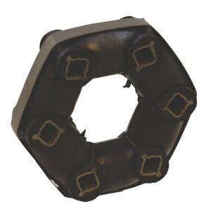 Elastische koppeling rubbers - Superflex   Niet doorslagzeker