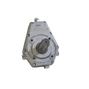 Tandwielkasten groep 2 type GBF 20S | Aluminium behuizing | Lichte constructie | Landbouwtoepassing | 5,5 kg | 0,22 l