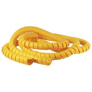 Beschermveren KBV kunststof geel | PE (polyetheen) geel