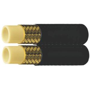 Hydrauliekslang FLEXOR TWB1 - SAE100 - Dubbel | SFA-TP0 | Polyester | Polyurethane